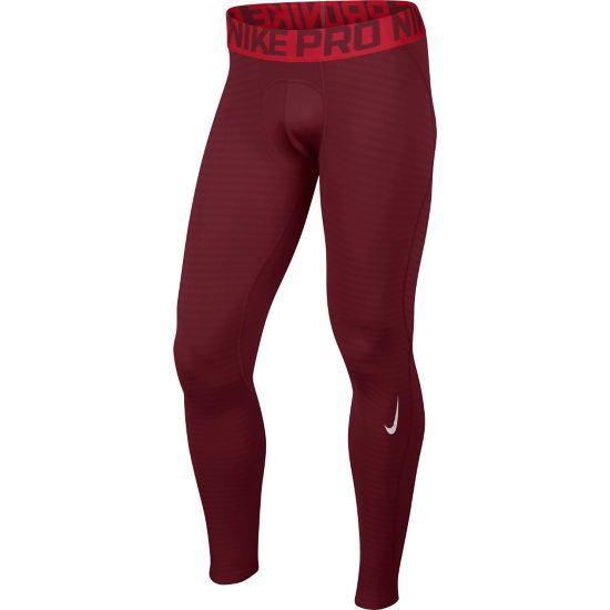 Pro Warm Tights Herre TEAM RED/UNIVER