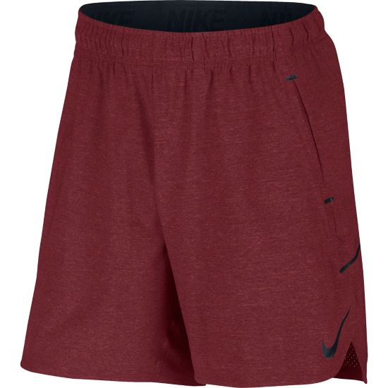 Flex Treningsshorts Herre 677-TEAM RED/BL