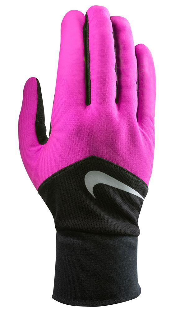 Women'S Dri-Fit Tempo Run Gloves HYPER PINK/BLAC