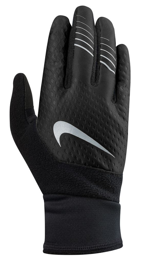Men'S Therma-Fit Elite Run Gloves BLACK/BLACK/SIL