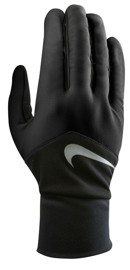 Men'S Dri-Fit Tempo Run Gloves BLACK/BLACK/SIL