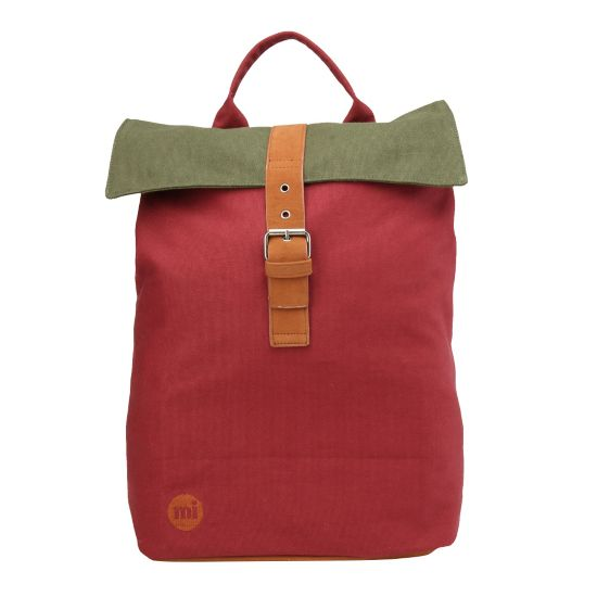 Day Pack Ryggsekk BURGUNDY/KHAKI