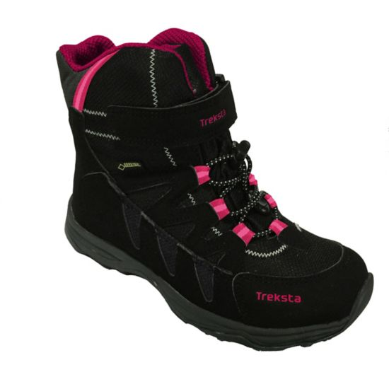 New Zeke GTX High Vintersko Jr. BLACK/ROSE