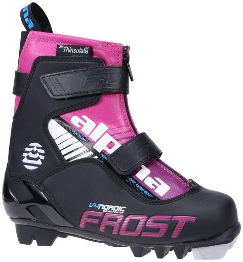 skisko barn/junior SORT/ROSA