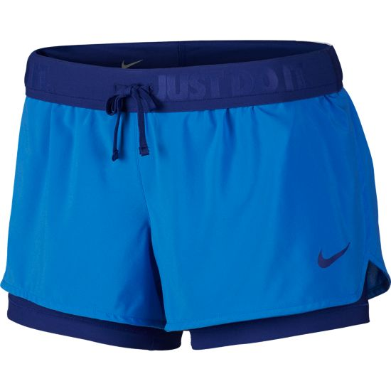 Full Flex 2 In 1 Løpeshorts Dame
