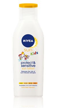 Sun Protect & Sensitive Solkrem Kids SF50
