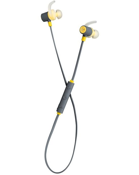 Outrun Sport In-Ear Mic Ørepropper Gul