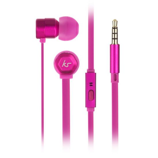 Øreplugger Hive Rosa In-Ear Mic