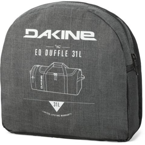 EQ 31 liter duffelbag BLACK