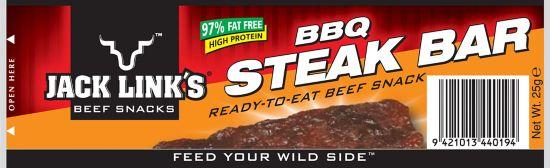 Steakbars BBQ, 25 gr