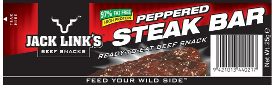 Steakbars Peppered, 25 gr