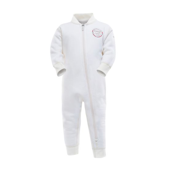 Polar baby playsuit OFFWHITE