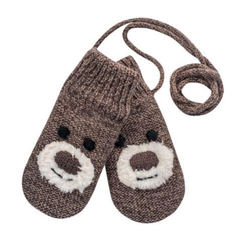 Bear ullvott baby BROWN