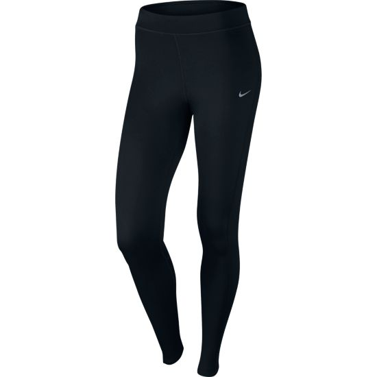 Thermal Løpetights Dame BLACK/REFLECTIV