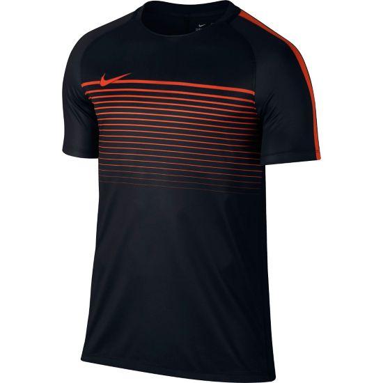 Squad CL T-skjorte Herre BLACK/TEAM ORAN