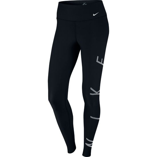 Power Legend Tights Dame BLACK/WHITE/WHI