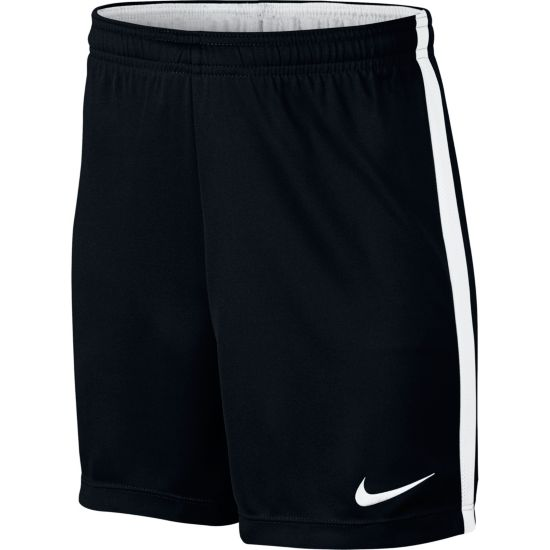 Dry Academy Fotballshorts Jr. BLACK/WHITE/WHI