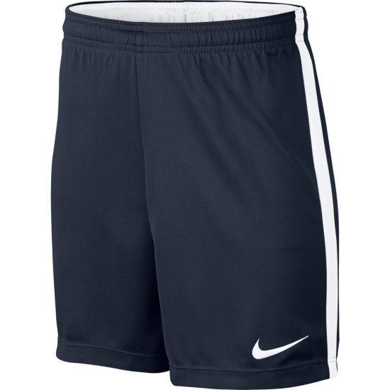 Dry Academy Fotballshorts Jr. 451-OBSIDIAN/WH