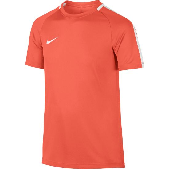 Dry Academy Trenings T-skjorte Jr. TURF ORANGE/WHI
