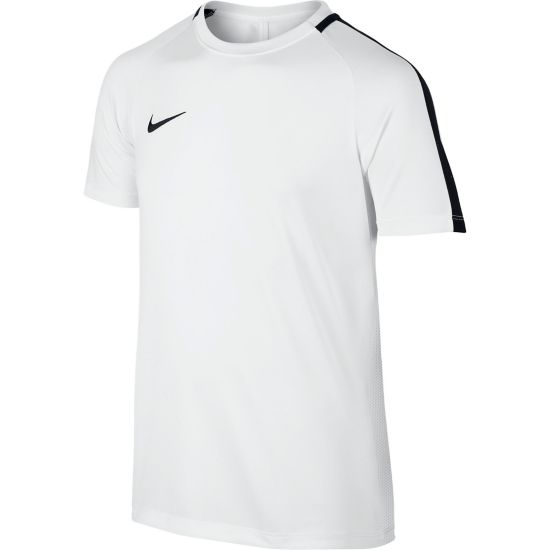 Dry Academy Trenings T-skjorte Jr. 100-WHITE/BLACK