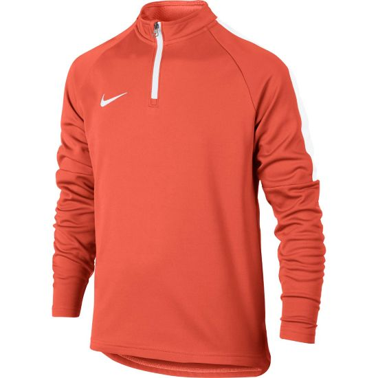 Academy Drill Top Jr. TURF ORANGE/WHI