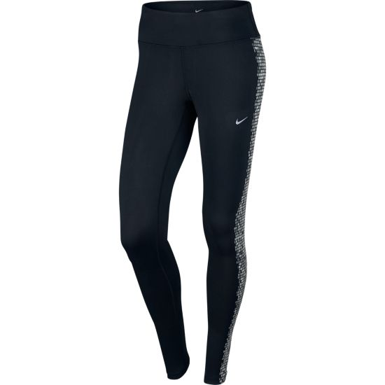Power Epic Flash Løpetights Dame BLACK/REFLECTIV