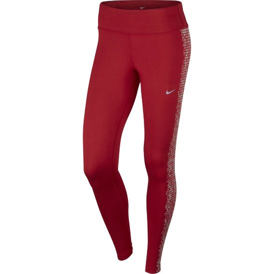 Power Epic Flash Løpetights Dame GYM RED/REFLECT