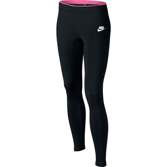 Sportswear Club Leggings Jr. 010-BLACK/WHITE