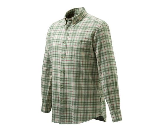 Sport Classic Button Skjorte BEIGE & GREEN C