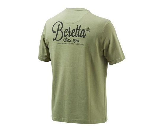 Man's Corporate T-Skjorte ARMY GREEN
