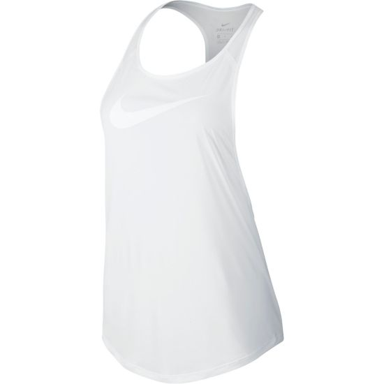 Flow Graphic Singlet Dame 101-WHITE/WHITE
