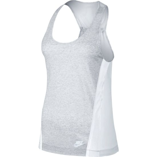 Bonded Tank Dame BIRCH HEATHER/W
