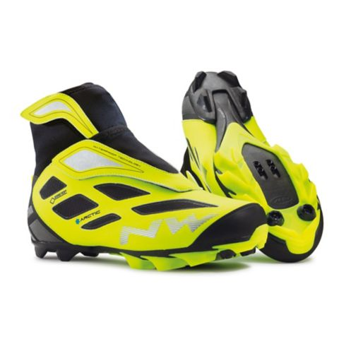 MTB Celsius Artic 2 Sykkelsko FL.YELLOW/ BLAC