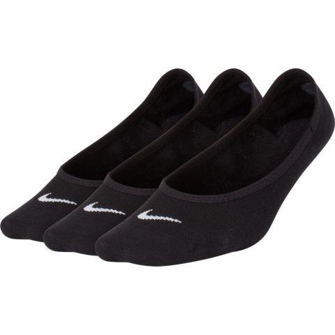Lightweight Footie 3-pk teknisk sokk dame 010-BLACK/WHITE