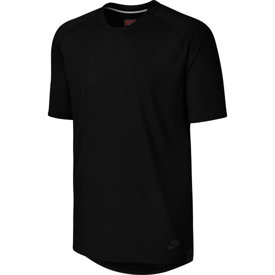 NSW Bonded T-skjorte Herre 010-BLACK/BLACK