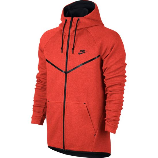 NSW Tech Windrunner Hettegenser Herre 852-MAX ORANGE/