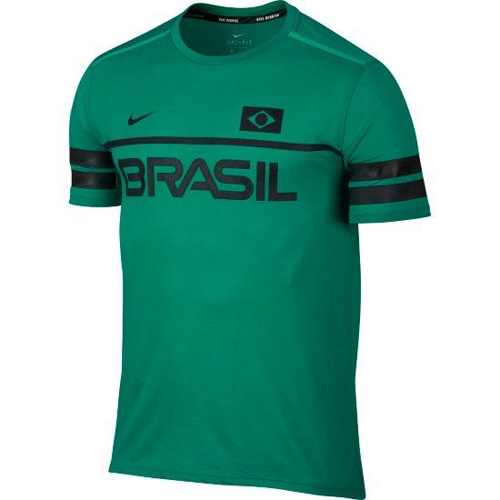 Dry Team Brazil T-skjorte Dame