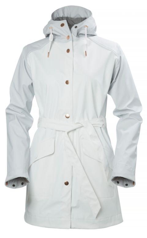 Kirkwall Regnfrakk Dame 001 WHITE