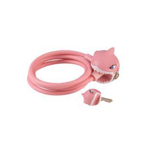 Pink Shark sykkellås