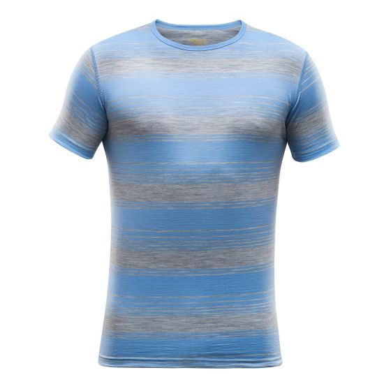 Breeze Ull T-Skjorte Herre ALLURE STRIPE