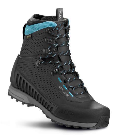 Orre A/P/S GTX® fjellstøvel dame BLACK/TURQUISE