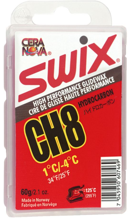 Swix Ch8 Red +1C/-4C, 60G