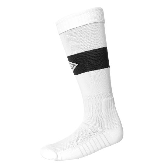 Vision Fotball Strømper WHITE/BLACK
