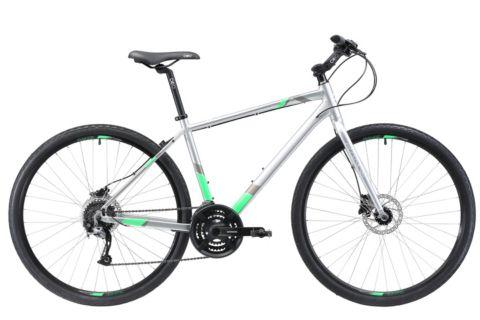 Range X3 Hybridsykkel GREY/GREEN/WHT