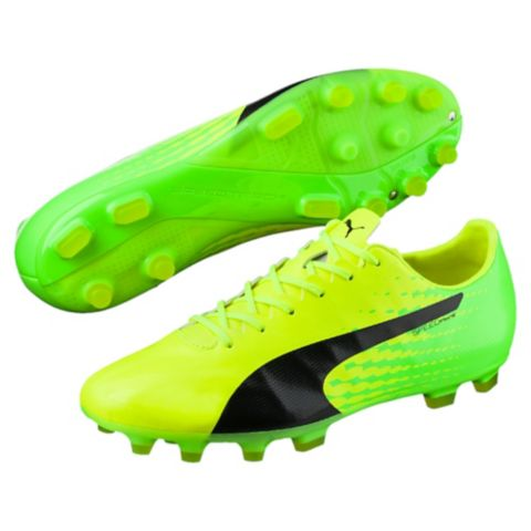 evoSPEED 17 SL S AG Fotballsko Kunstgress SAFETY YELLOW-P