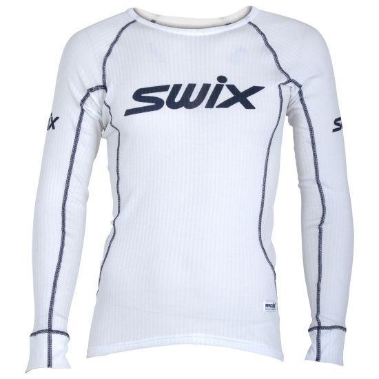 RaceX Bodywear Superundertøy Langermet Overdel Herre BRIGHT WHITE
