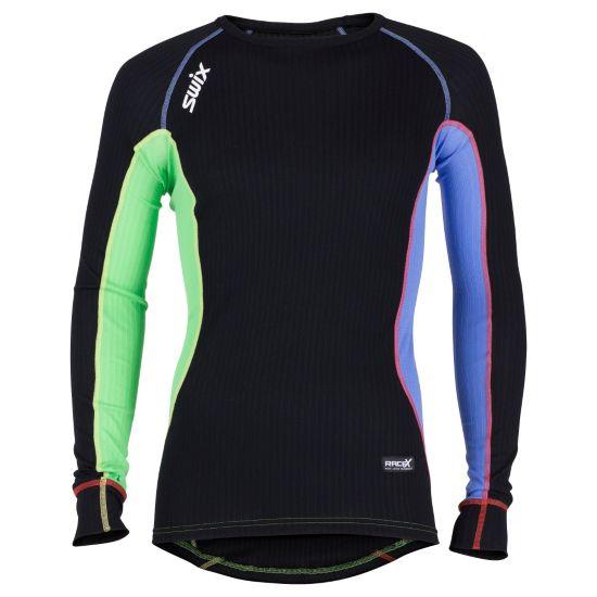 RaceX Bodywear Superundertøy Langermet Overdel Herre CRAZY BLACK