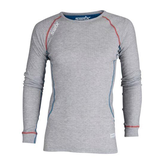 RaceX Bodywear LS Superundertøy Herre GREY MELANGE