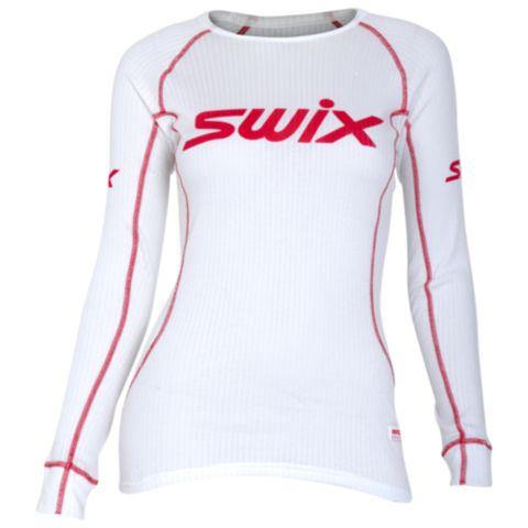RaceX Bodywear superundertøyoverdel dame RED DAHLIA
