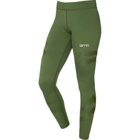 Green Tribe High Waist Tights Dame GREEN